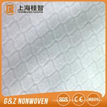 не сплетенная ткань 100% полиэстер с тиснением стиль диаманта e спанлейс нетканого материала