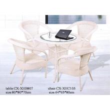 Silla de jardín moderna de mimbre al aire libre muebles, silla de la rota,