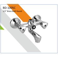 Bd1005c Brass Double Handles Bath Faucet