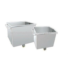 Stainless steel transport container