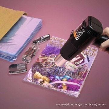 Kristallklare Nahrungsmittelgrad-Polyvinylchlorid-Wärmeschrumpfflachbeutel für Zeitschriften und alle Artikel, die mit SGS genehmigen, verpacken (XFB05)