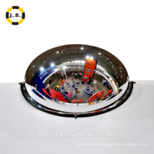Espejo interior de media luna espejo / fabricación de espejo de cúpula