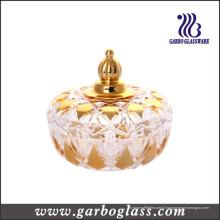 Pot en verre plaqué de pot (GB1843ZS / D)
