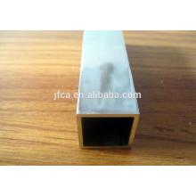 Tubo oco de alumínio da série 2000 em tamanho quadrado personalizado