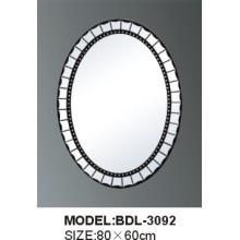 Толщина 5mm Серебряное стеклянное зеркало ванной комнаты (БДЛ-3092)