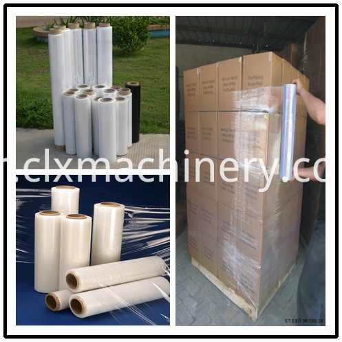 Stretch Film Machine In Plastic Extruders