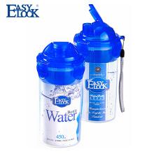 2017 popular bpa livre mel personalizado garrafa de água de plástico