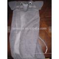 Serviette à capuchon éléphant, 100% coton, super douce et absorbante