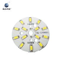 carte PCB et PCBA en aluminium de carte PCB de la coutume 94vo pour les lumières menées d'ampoule