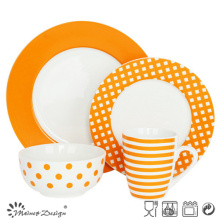 16PCS Porcelain Ceramic Dinner Set Manufacture