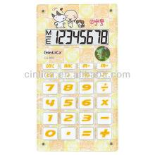 Elektronischer Taschenrechner Großanzeige 8-stellig / ABS Material Taschenrechner / Schokolade Taschenrechner
