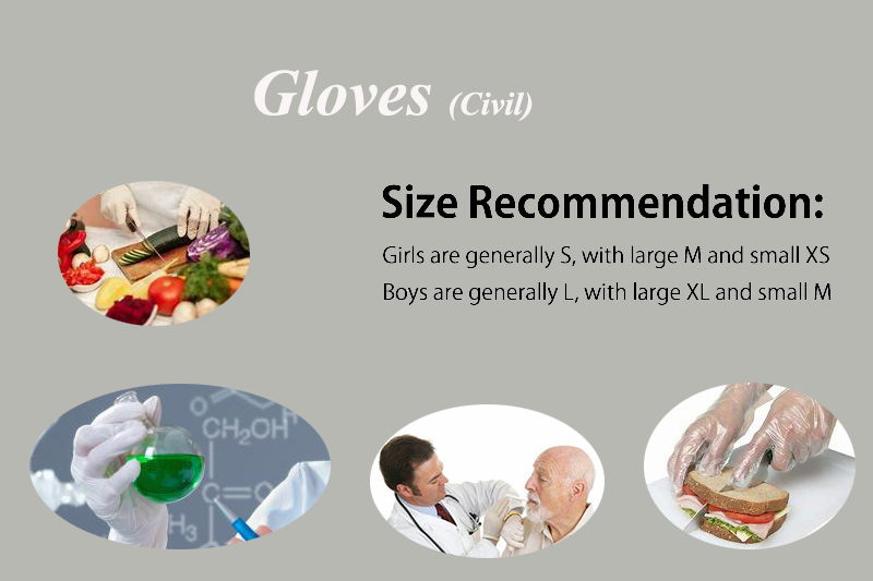 Gloves use
