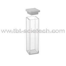 T-BOTA 10 mm de ancho interior Popular Q-204 celda de fluorómetro estándar con tapa