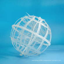 plastic bio ball with cotton for waste treatment