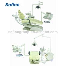 Silla dental (estilo izquierdo y derecho) con la unidad dental aprobada CE venta caliente