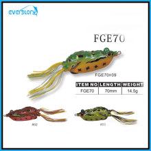 Vavid Color Frosch Köder mit 3D Eye Fishing Tackle Angeln Köder