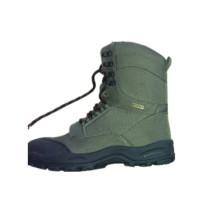 Зеленый Мода армии зашнуровать зимний снег резиновые сапоги (XD-106)