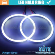 90mm Halo Ringe führte Cob Angel Eyes Lichter für Auto