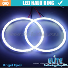 90mm halo rings led cob angel eyes lights for car