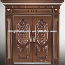 New Villa Double Security Door KKDFB-8015 From China Top Brand KKD