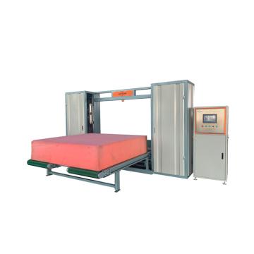 Máquina de corte automática de espuma de látex horizontal e vertical