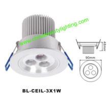 3W LED Light LED Downlight LED Plafonnier