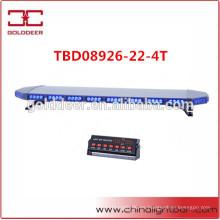 Aluminio lineal 88W LED Lightbar de advertencia para vehículos blindados (TBD08926-22-4T)