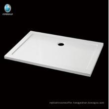 Economical waterproof rectangle Acrylic Shower tray