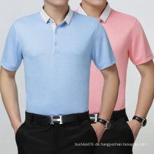 Günstigstes Kundenspezifisches Farb- und Logo-Polyester-Polo-Hemd 100%