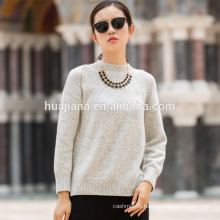 best selling women's 100% cashmere colored points sweater