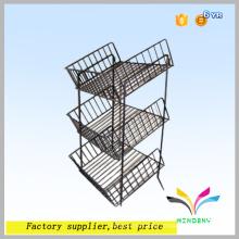 Precio de fábrica al por mayor a medida piso de alimentos de metal tienda de víveres para frutas y hortalizas