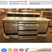 15 drawers stainless steel work bench metal work bench