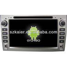 Android System lecteur dvd de voiture pour Peugeot 408 avec GPS, Bluetooth, 3G, ipod, jeux, double zone, contrôle du volant