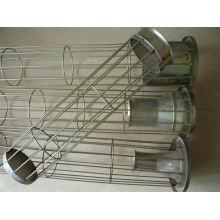 Gaiola do filtro de saco da poeira do silicone de Organo com o aço carbono Venturi