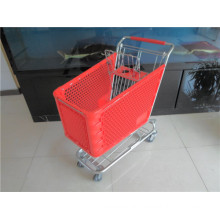 Plastic Shopping Cart for Shopping Trolley