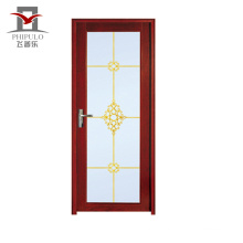 2018 new glass design aluminum alloy door with cheapest price