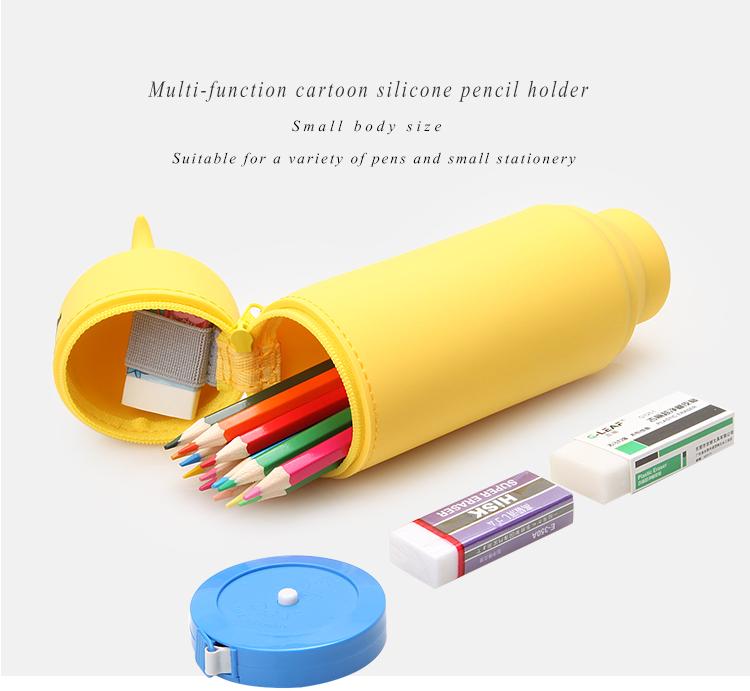 silicone purse pencil bag