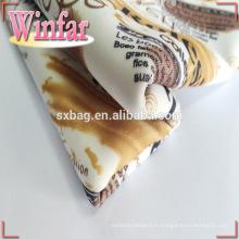 Tissu en polyester 600 deniers imprimé au design créatif