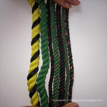 Corde torsadée recyclée pour la pêche