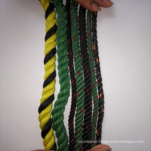 Recycled twist rope for fishing