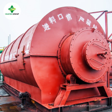 Used Waste Tire to Oil Pyrolysis Plant for Sale
