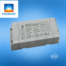 12w Plastica 0 / -10V / 1-10V Driver Dimmerabile Led