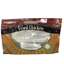 BOPP CPP Plastic Free Customized Chicken Pouch Roasted Chicken Bag Maquina Roast Chicken Packaging Bags