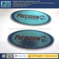 Placa de logotipo de aluminio de alta precisión personalizada