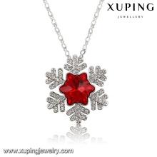43219 Cristales de hojas de encanto de moda de Swarovski Jewelry Colgante de collar