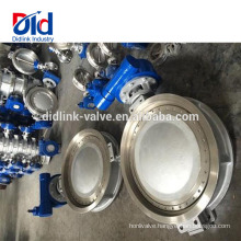 3 Way Cv Norriseal Indicating Triple Offset Stainless Steel Pneumatic Butterfly Valve Manufacturer