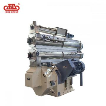 Twin Motor Drive Feed Ring Die Pellet Mill