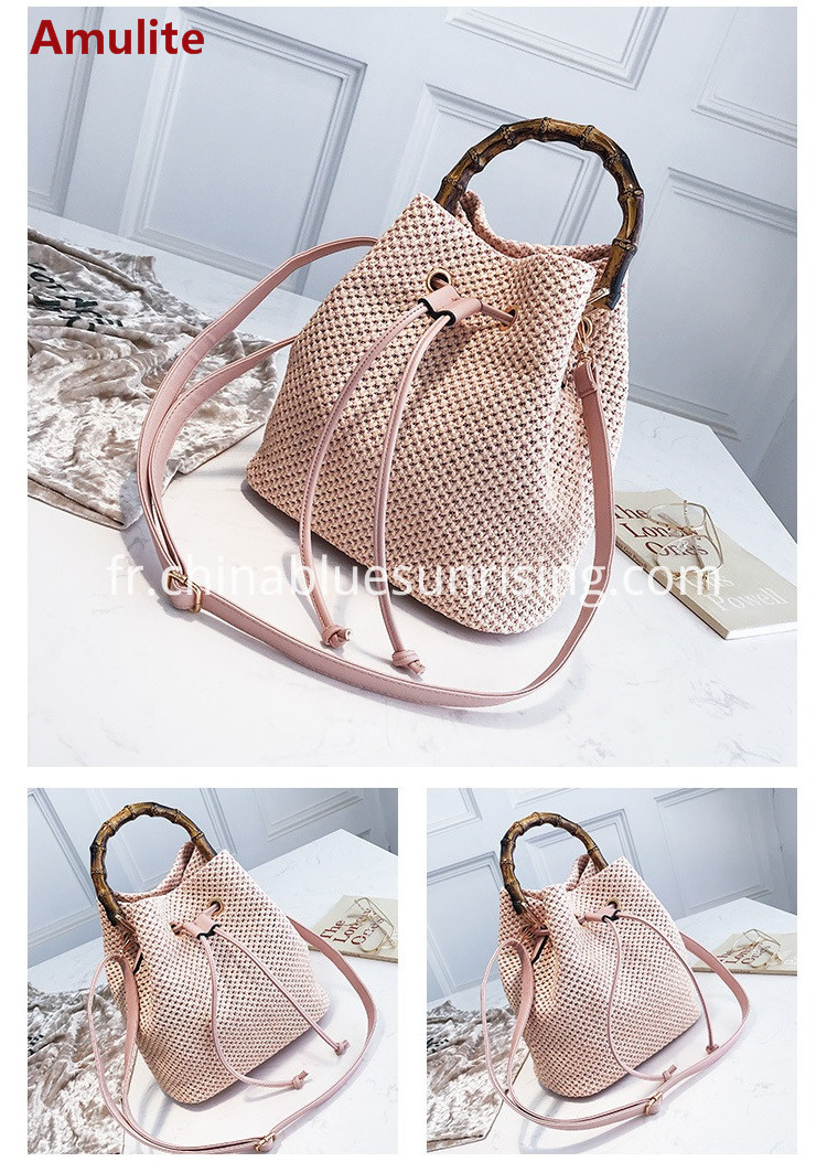 Ladies straw bag