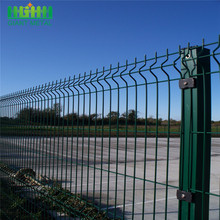 Powder Coated Security Customizable Safety 3D Curved Fence