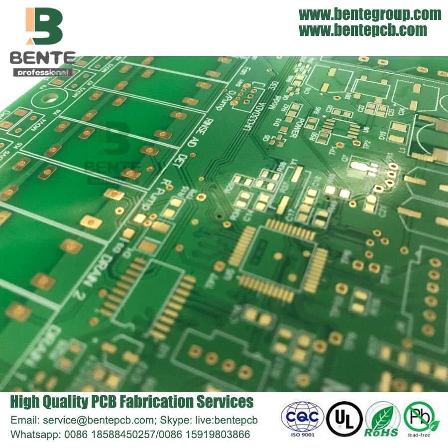 Carte PCB FCA 3oz Quickturn de haute qualité